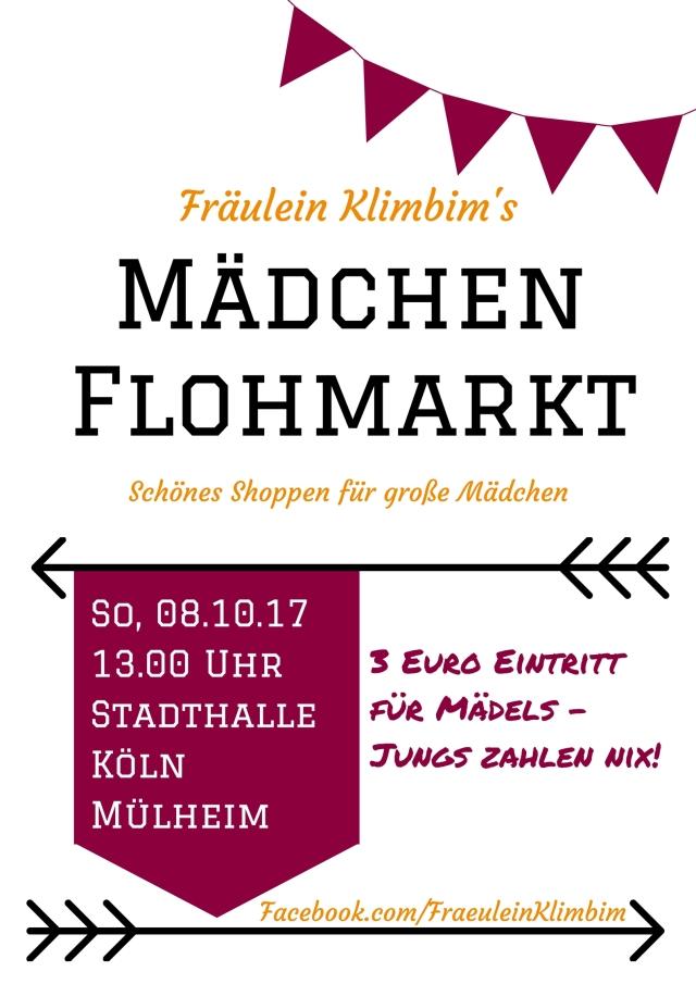 Poster 10_17 Fräulein Klimbim's